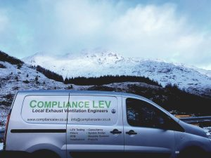Compliance LEV, deliver Local exhaust ventilation to Scotland