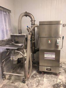 flour dust compliance lev testing
