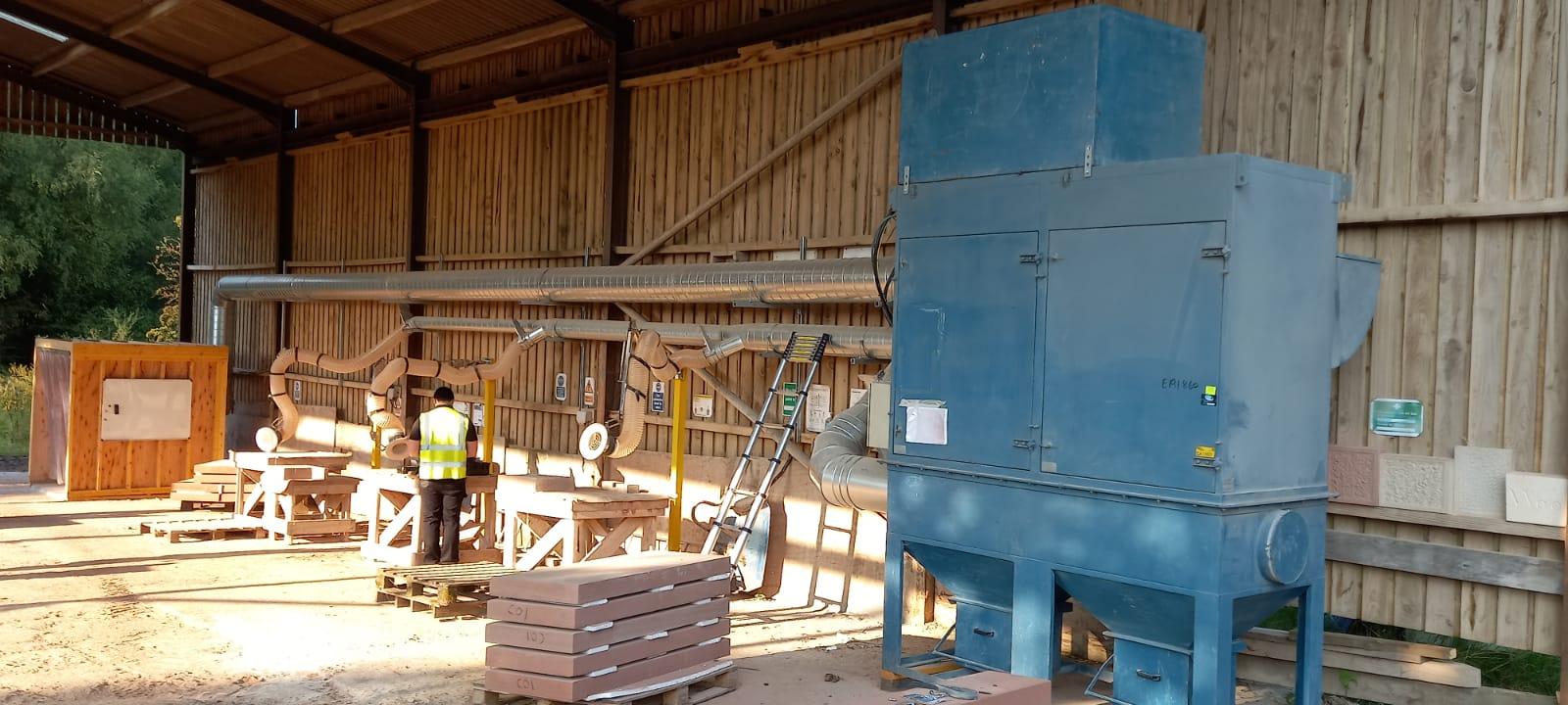 stone dust lev machine rcs